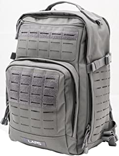 LA Police Gear Atlas 12H MOLLE Tactical Backpack for Hiking, Rucksack, Bug Out, or Hunting