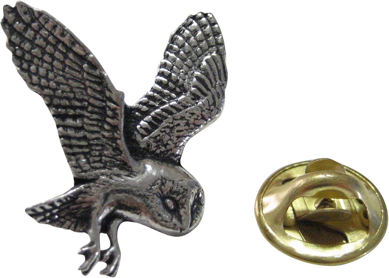 Kiola Designs Flying Owl Lapel Pin