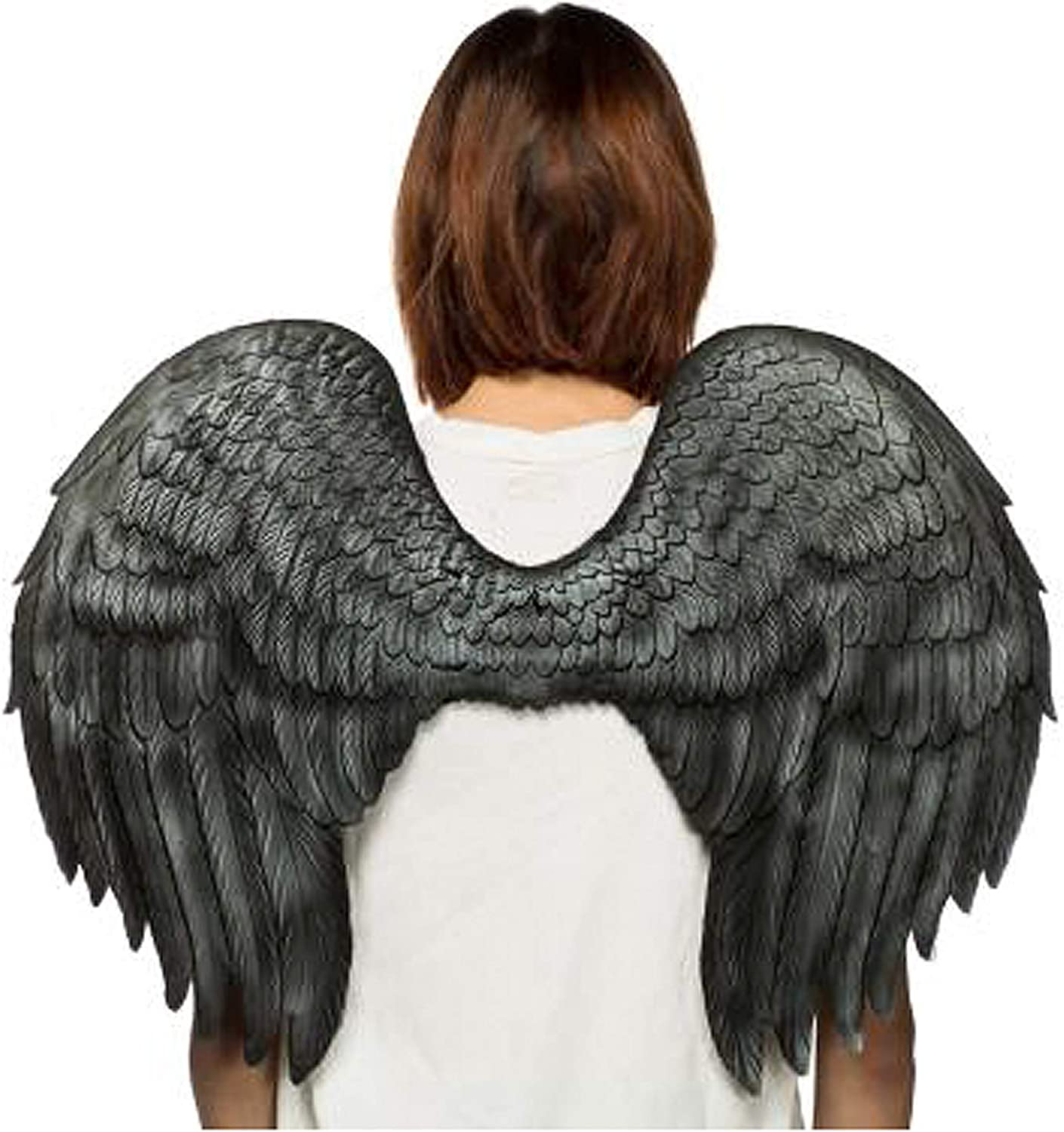 HMS Unisex-Adult's Supersoft Angel Wings-BK, Black, One Size