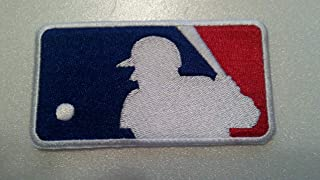 Iron On Embroidered Patch Major League Baseball MLB 3 3/4 x 2 INCH Top Quality