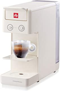 Illy Y3.3 Espresso and Coffee Machine, 12.20x3.9x10.40 (White)