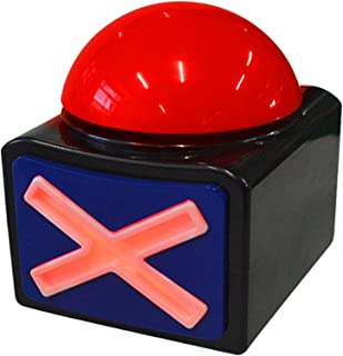 BOSKEY Game Answer Buzzer - Game Buzzer with Lights and Sound Trivia Quiz Got Talent Buzzer - Buzzer Buttons for Game Show...