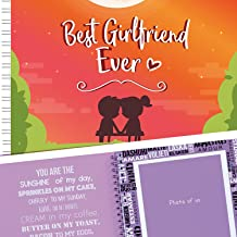 5 Second Memory Book Best Girlfriend Ever - Perfect Romantic Gift Idea For Your Girlfriend - Your Gorgeous GF Will Love This Cute Present For Her Birthday, Valentine's Day, Christmas Or A Special Date