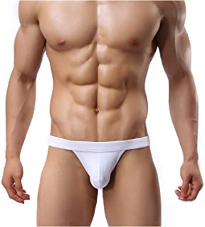 Arjen Kroos Men's Thong Sexy Low Rise G-String Panties Underwear