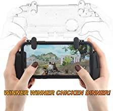 ZOEMO All Metal PUBG Mobile Trigger, Mobile Game Controller with Triggers and Gamepad Upgraded Version for iPhone iOS/Android