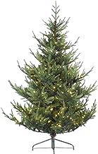 WSJTT Seasonal Décor Christmas Trees Artificial Christmas Tree Luminous with Metal Bracket Luminous Spruce Hinge Christmas...