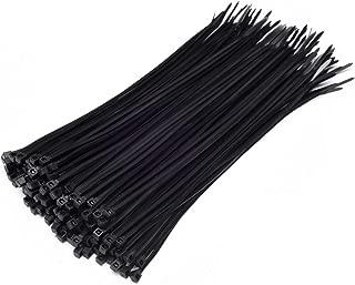 Multi-Purpose Nylon Zip Ties - (100 Piece) Self Locking Cable Ties with Ultra Strong Plastic 8