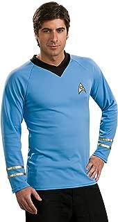 Classic Star Trek Deluxe Spock Adult Costume Shirt