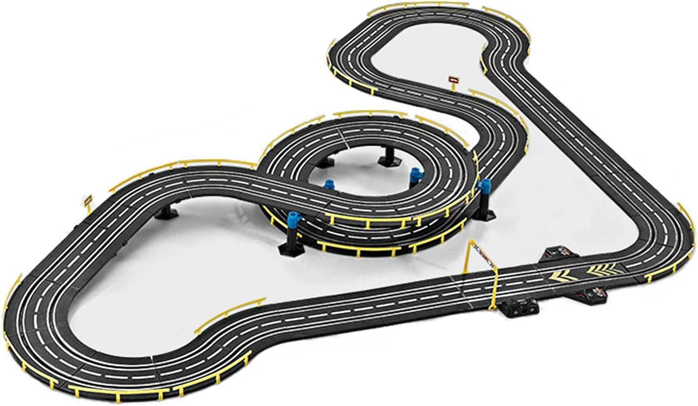 LINGLING Slot Car Vehicle Race Sets Children's Track Racing Gara
