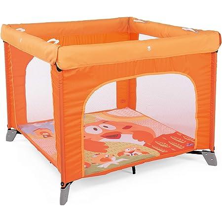 Chicco Open Box Parco giochi per bambini 0m+, Arancione (Fancy Chicken)