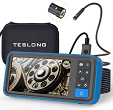 Teslong Dual Lens Endoscope Camera, 1080P Dual Camera Borescope Inspection Camera with..