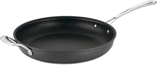 Cuisinart 6422-30H Contour Hard Anodized 12-Inch Open Skillet with Helper Handle