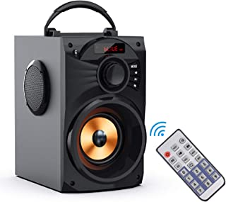 Portable Bluetooth Speaker Subwoofer Heavy Bass Wireless Outdoor/Indoor Party Speaker Line in Speakers Support Remote Cont... photo