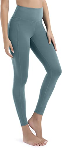 VOEONS Yoga Pants for Women High Waisted Tummy Control Spandex Exercise Athletic Leggings with Pockets