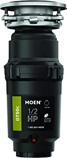 Moen GT50C GT Series 1/2 Horsepower Garbage Disposal, with Fast Track Technology