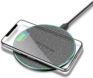 LDH 10W Fast Wireless Charging Pad (Gray)