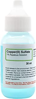 Copper(II) Sulfate, 1% Aqueous Solution, 1 fl oz (30mL) - The Curated Chemical Collection