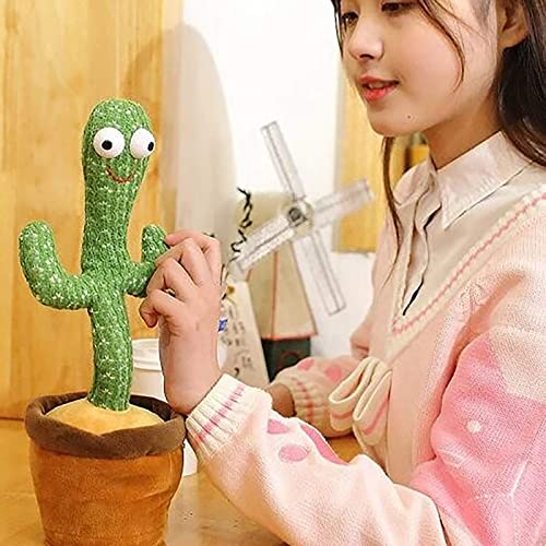 wholesale Singing & Dancing Cactus Stuffed Plush Doll, Funny Electric Interactive sale Cactus Plush Toy, Silly Singing Cactus Toy, Cute Table Decorations, Plush Stuffed Electric Toys Gift for Kids Boy outlet online sale Girls outlet online sale