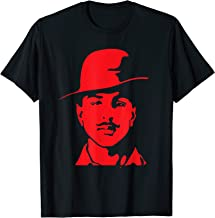 Bhagat Singh Red Indian Patriot Freedom Fighter T-shirt