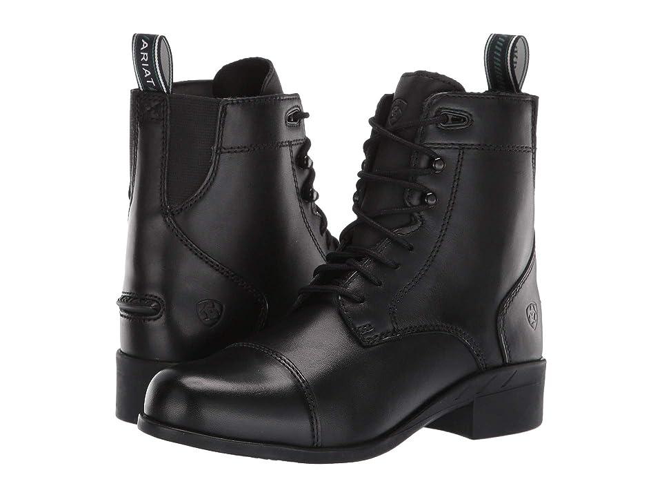 Ariat English Kids Performer IV Paddock (Toddler/Little Kid/Big Kid) (Black) Cowboy Boots