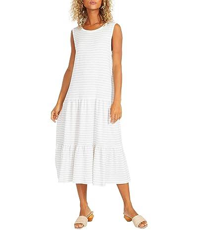 BB Dakota x Steve Madden Longest Weekend Dress Striped French Terry Dress