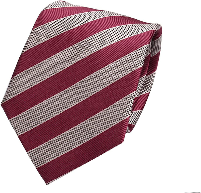 Striped Neck Ties Mens 7cm Wide Neckties Men Wedding Suits Polyester Silk Gravatas Business Corbatas Plaid
