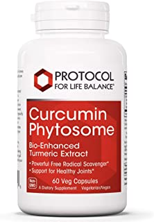 Protocol For Life Balance - Curcumin Phytosome - Bio-Enhanced Turmeric Root Extract to Support Inflamed Joints and Maintai...