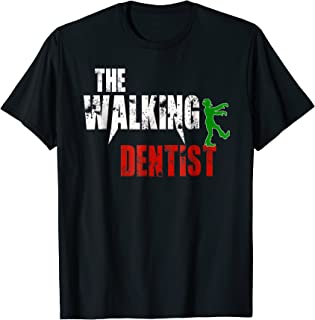 Dentist gift t-shirt, Scary Walking Zombie Teeth Doctor