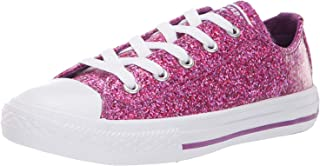 Converse Kids' Chuck Taylor All Star Glitter Coated Low Top Sneaker