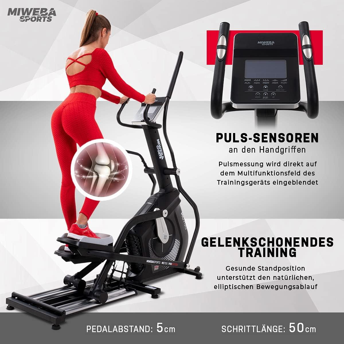 Miweba Sports Crosstrainer MC700 - Ergonomie & Gesundheit