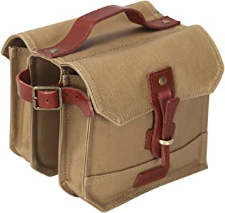 leather bicycle pannier