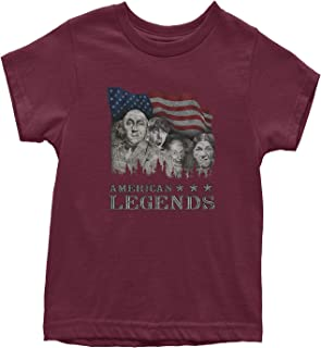 Mount Rushmorons 3 Stooges Youth T-Shirt