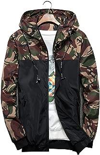 Spring Men's Jackets Camouflage Militarys Zipper Male Windbreaker Men N434