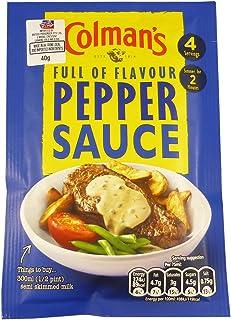 Colman's Pepper Sauce Sachet, 40g