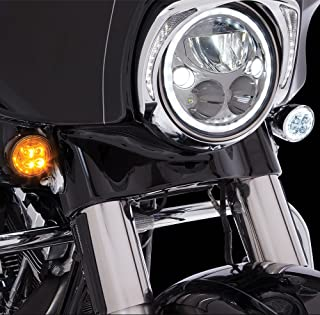 Fang Front LED Signal Light Inserts (Chrome)