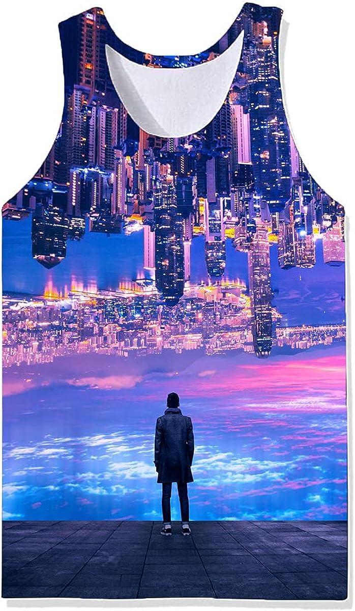 5 popular Damela Boy 3D Magical Colorado Springs Mall Pullover Vest Printed Journey