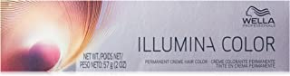 Wella Illumina Permanent Creme Hair Color, 7/35, 2 Ounce