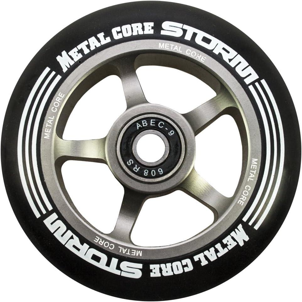 Di/ámetro 100 mm Metal Core Rueda Storm para Scooter Freestyle