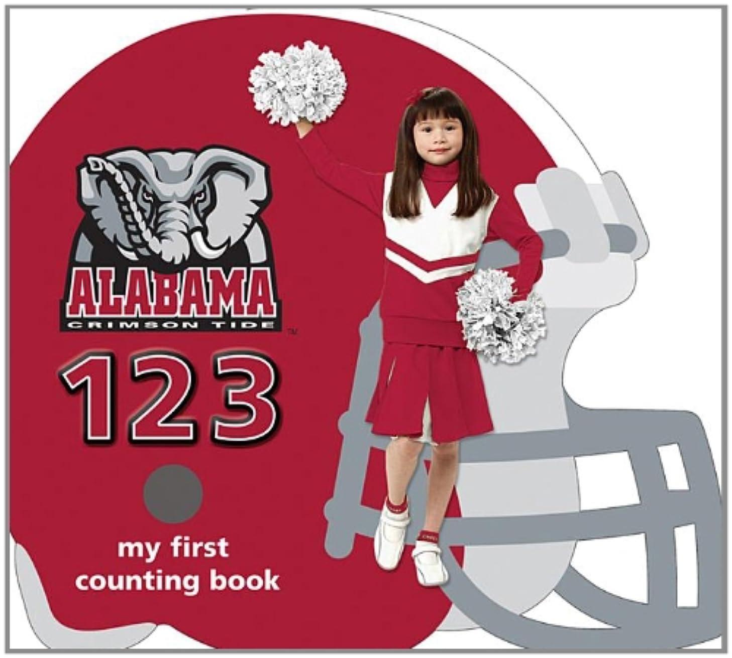University of Alabama Crimson Tide 123: My First Counting Book (University 123 Counting Books)