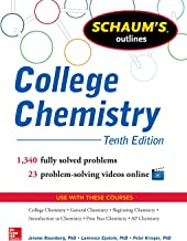 College Chemistry: Tenth Edition (Schaum's Outlines)