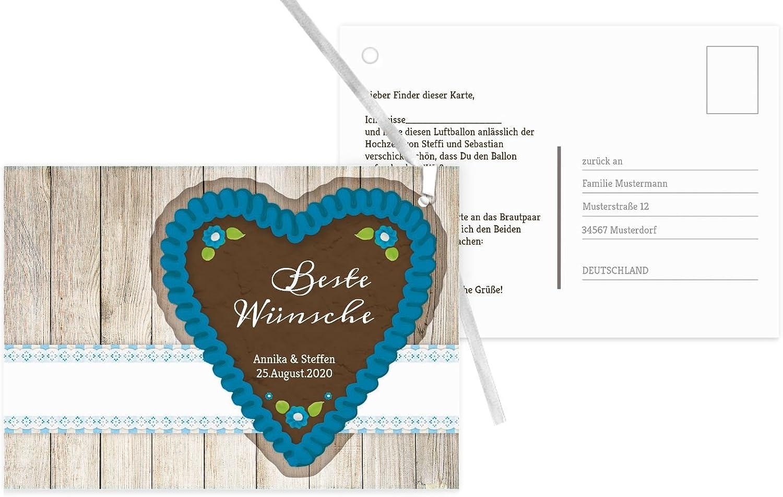 Ballonkarte München, 60 Karten, Blauheller B07CQH5JM3 | Große Große Große Ausverkauf  14c6eb