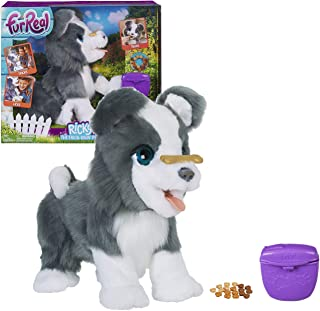FurReal Friends Ricky, the Trick-Lovin' Interactive Plush Pet Toy, 100+ Sound-and-Motion Combinations, Ages 4 and Up, Stan...