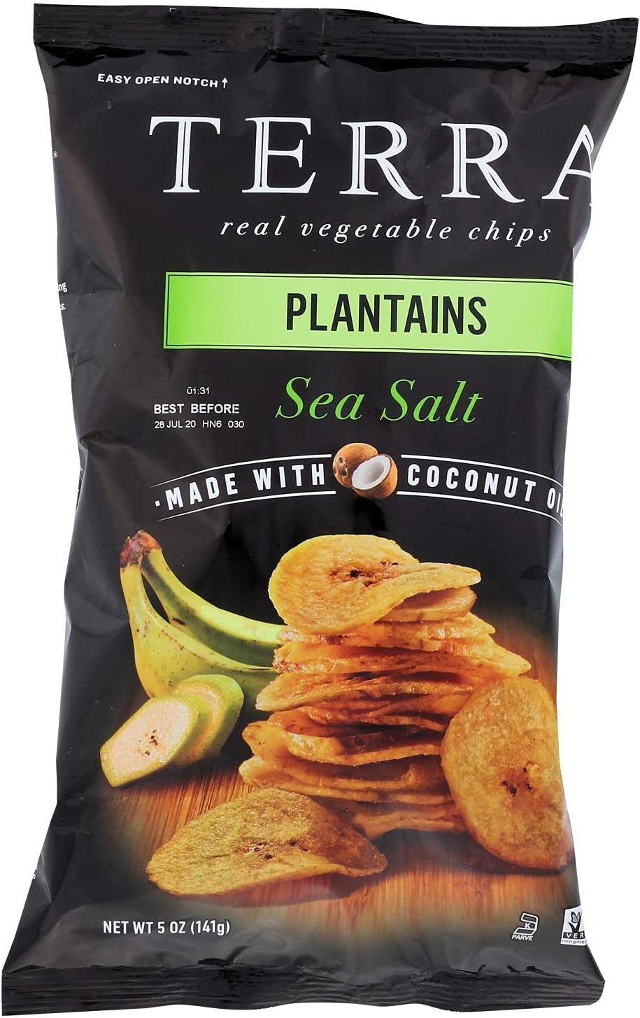 Terra Chips Plantain Sea In Free shipping stock Salt 5 Pack Oz 12 - of