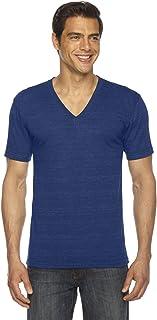 American Apparel unisex-adult Tri-Blend V-Neck Short Sleeve T-Shirt