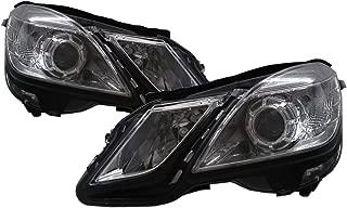 CABI W212/S212 E-CLASS 2009-2012 Fourth generation Pre-Facelift Sedan/Wagon 4D/5D Projector Headlight Headlamp Chrome for Mercedes-Benz LHD