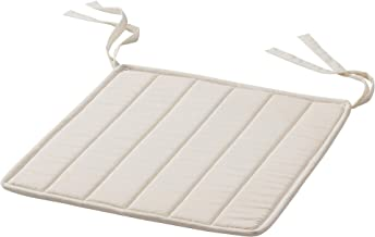 Ikea MOSSARYD Chair pad, Unbleached, 33x35 cm (13x14)
