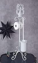 Wc Bürste Vintage Weiss Toilettengarnitur Wc Rollenhalter