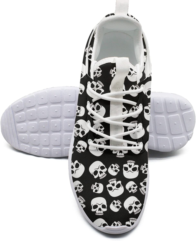 Skull Happy Halloween shoes Sport For Women Running size 6