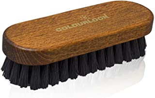 Colourlock Leather & Textile Cleaning Brush | Clean Leather, Textile and Alcantara | for Cars, Furniture, Apparel, Shoes, ...