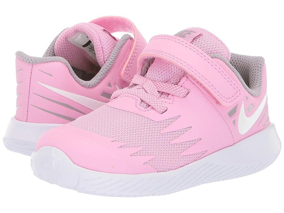 Nike Kids Star Runner TDV (Infant/Toddler) (Pink Rise/White/Atmosphere Grey) Girls Shoes